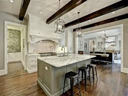 white marble kitchen island 50 gorgeous kitchen designs with islands designing idea