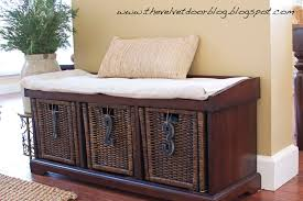 Living Room Furniture Designs Decorating Mesmerizing Diy Foyer Bench With Shoe Storage In