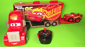 cars 3 mack u0026 lightning mcqueen buddy pack remote control mack