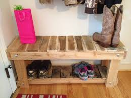 shoes rack western black painted oak wood foyer bench with shoe