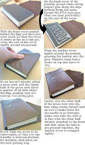 how to print and bind your own paperback book bookmaking step by step instructions to leather bind a book or journal posh