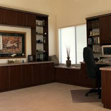 fine home office unit storage units desk with a white foil finish