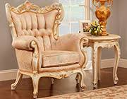 French Provincial Armchair French Provincial Chair 6381 Provincial