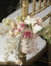 wedding chair decorations wedding chair decorations fresh flowers