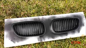 bmw grill how to plasti dip bmw grills youtube