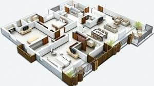 house design with floor plan 3d home plan 3d amazing awesome modern square house design come with