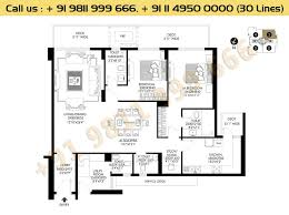 floor plan dlf crest gurgaon