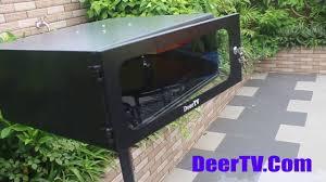 outdoor projector housing diy build outdoor projector deertv