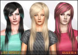 sims 3 custom content hair scene queen peggyzone 4233 hair overhaul ace creators