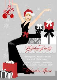 Classy Christmas Party Decor by Elegant Christmas Party Invitations Everything Christmas