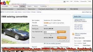 auto bid on ebay selling your car on ebay motors you dont need a vin
