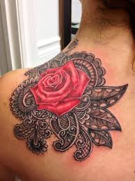 best 25 lace rose tattoos ideas on pinterest black lace tattoo