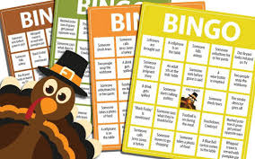 printable thanksgiving bingo thanksgiving bingo fort worth star telegram