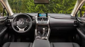 lexus sport car interior 2017 lexus nx 200t pricing for sale edmunds