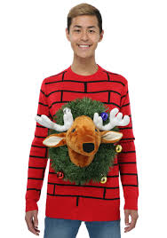 ugliest sweater reindeer sweater