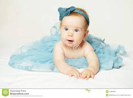 Sweet Little Baby Cute Small Girl Stock Photo  Image of hand