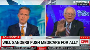 bernie sanders squirms as cnn host spews facts on single payer