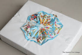 recycled christmas wrapping paper how to be green 10 recycled gift wrapping ideas the country