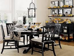 Black Dining Room Furniture Decorating Ideas Dining Room Black Dining Room Ideas With Rustic Lanterns And Lots