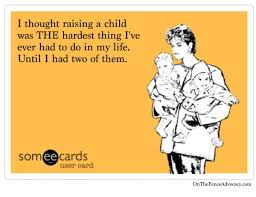 Parenting Meme - parenting is not easy meme on the fence