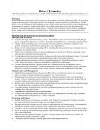 Free Teacher Resume Templates Download Examples Of Resumes 87 Enchanting Basic Sample Resume For