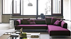 canapé d angle en cuir design canapé d angle en tissu cuir design contemporain côté maison