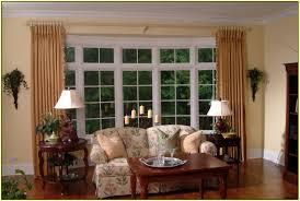 ideas of bow window treatments image of elegant bow window treatments