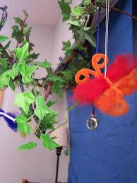 creative themes butterflies wool butterfly craft