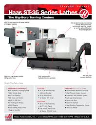 st 35 series haas automation pdf catalogue technical