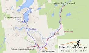 Lake Placid New York Map by Lake Placid Classic Half Marathon U0026 10k The Original Lake Placid