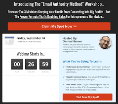 Seminar And Webinar Schedule How To Create A Profitable Webinar Hook And Where To Use It