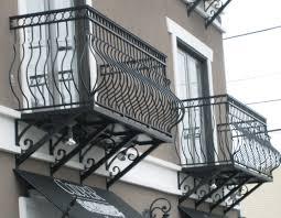 Art Deco Balcony by Aluminum Balcony Railing 2