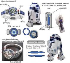 r2d2 wedding ring wars and an amazing r2d2 engagement ring pics and