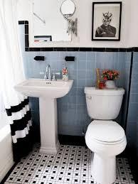 retro bathroom ideas black and white tile bathroom decorating ideas best 25 1950s