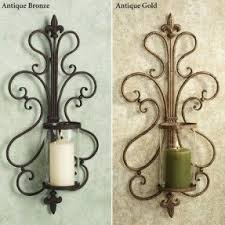 Outdoor Candle Wall Sconces Hurricane Candle Sconces Wall Foter