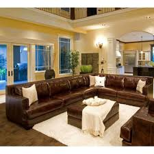 home theater sectional sofa living room pulaski furniture leather home theater power