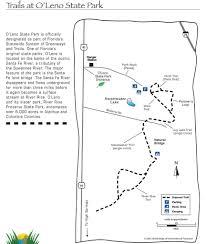 Florida State Parks Map O U0027leno State Park Maplets