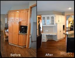 refinishing oak kitchen cabinets before and after cabinet refinishing before and after