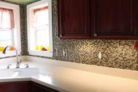 paint chip backsplash diy kitchen splashback ideas peel and stick