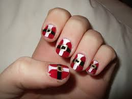 5 different christmas nail art designs fun cute xmas nails