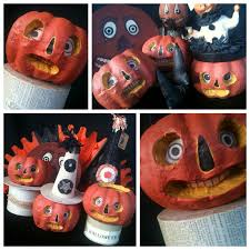 halloween paper mache masks jennuine by rook no 17 how to make halloween folk art from