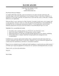 retail cover letter sample cover letter for retail sales associate example