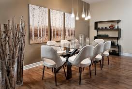 how to decorate a dining room wall home design