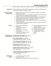 Sample Staff Nurse Resume Staff Nurse Resume Example Resume Examples Registered Nurse