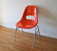 Herman Miller Padded Blue Vintage Chair Herman Miller Picked Vintage