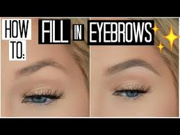 how to how to fill in your eyebrows for beginners how to shape your