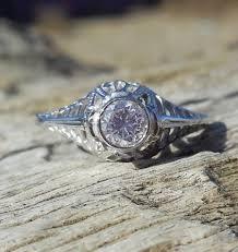 vintage antique 25ct transitional cut diamond unique engagement