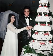 Wedding Cake Joke Elvis And Priscilla Presley U0027s Las Vegas Wedding Everything You
