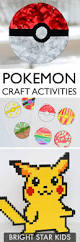 14 pokemon craft u0026 fun activities bright star kids