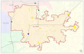 Map Of San Diego Neighborhoods by Community Development El Cajon Ca